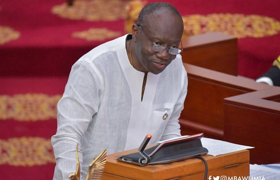 Finance Minister Requests 27 Billion Cedis in Advance of Appropriation for first quarter of 2021