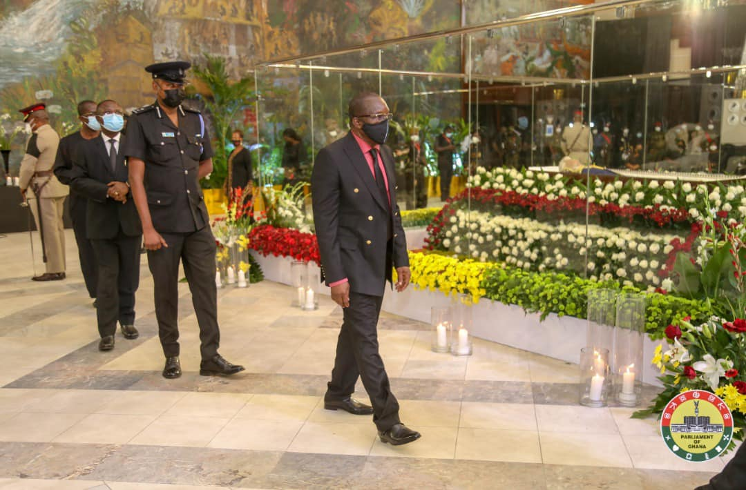 Parliament Pays Last Respect to Memory of Late Former President Rawlings