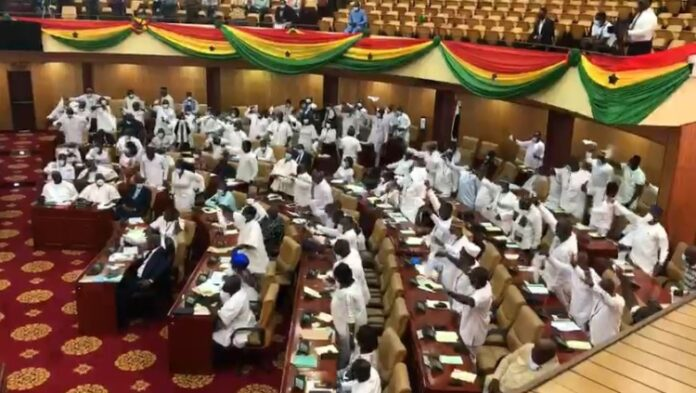NPP Caucus and Independent MP Declared Majority Group in Parliament