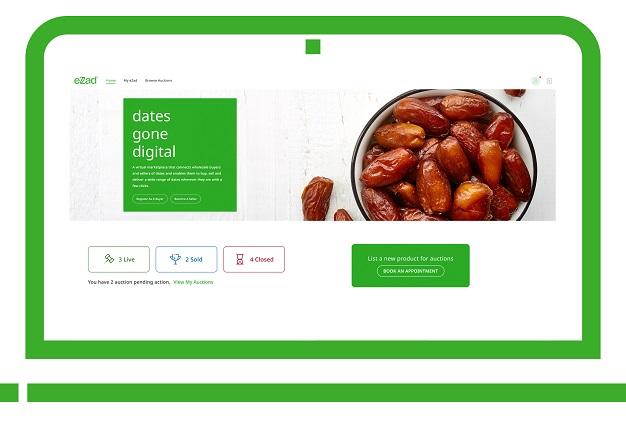 Dates Gone Digital on eZad: First Online Auction Platform Launched